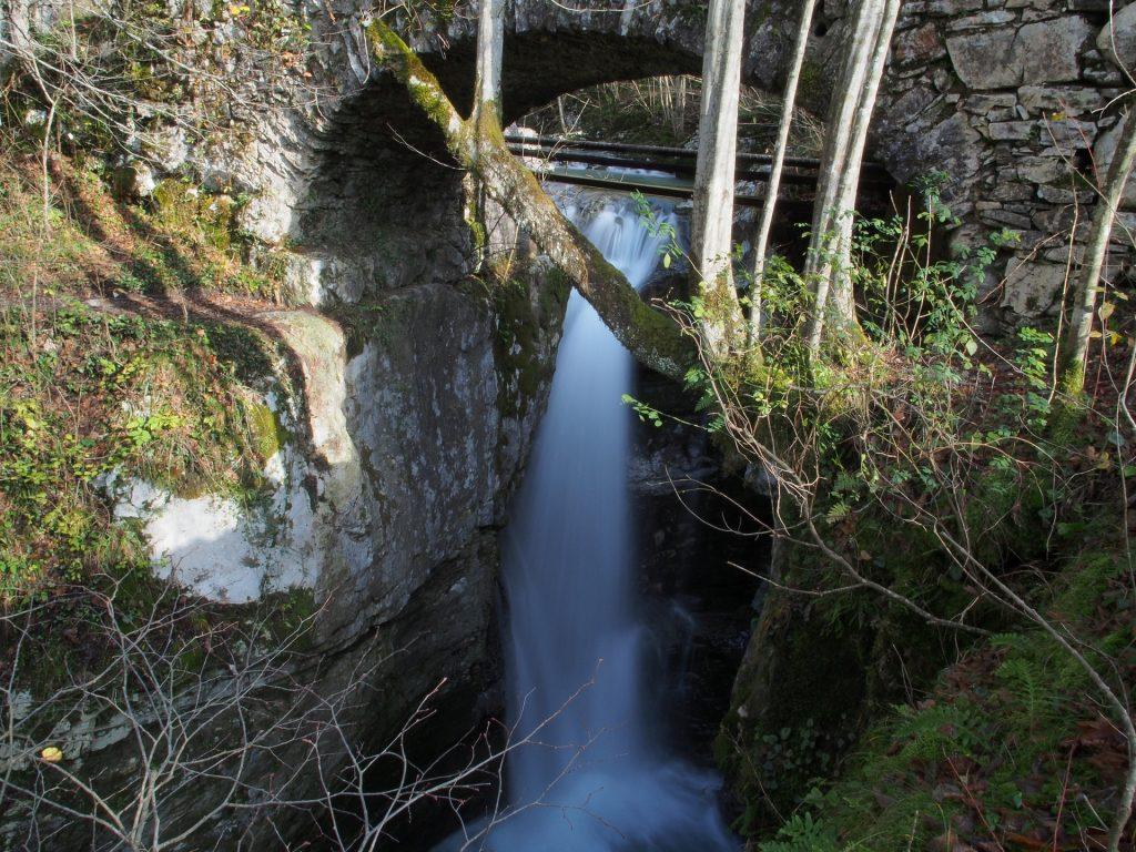 La prima cascata del Kozjak