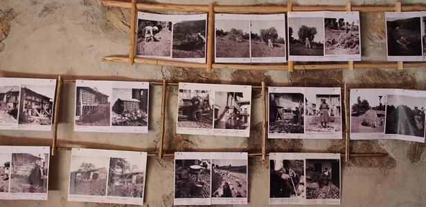 Vecchie fotografie della vita di un tempo a Robidišče