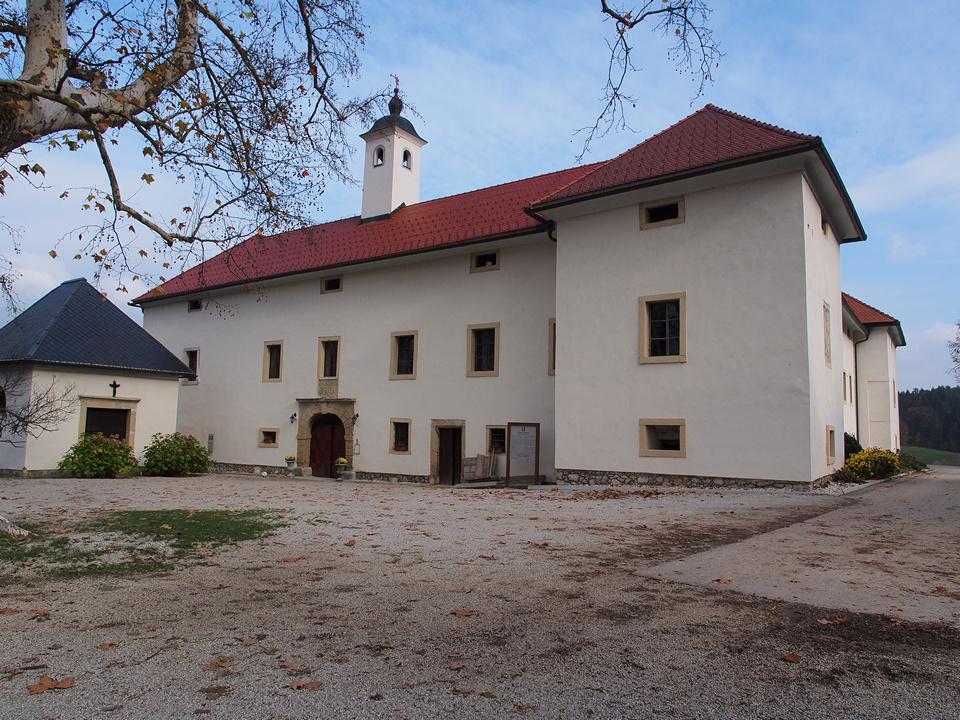 l'ingresso al castello di Tuštanj