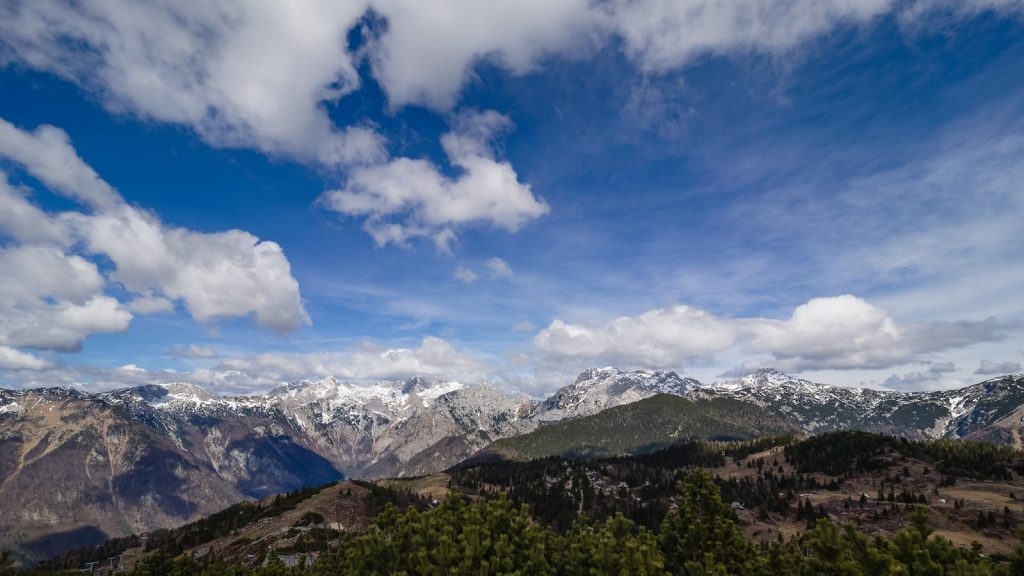 Le maestose montagne delle Kamniško-Savinjske Alpe