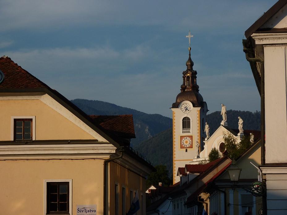 il centro storico di Kamnik