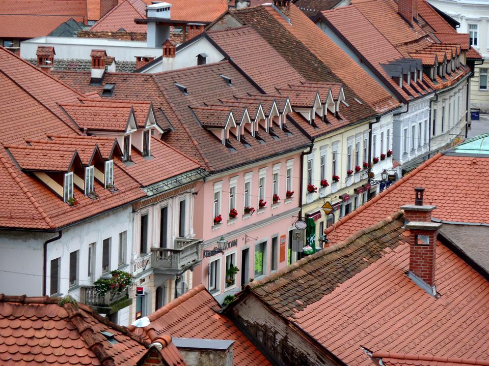 Glavni trg vista dal Mali Grad