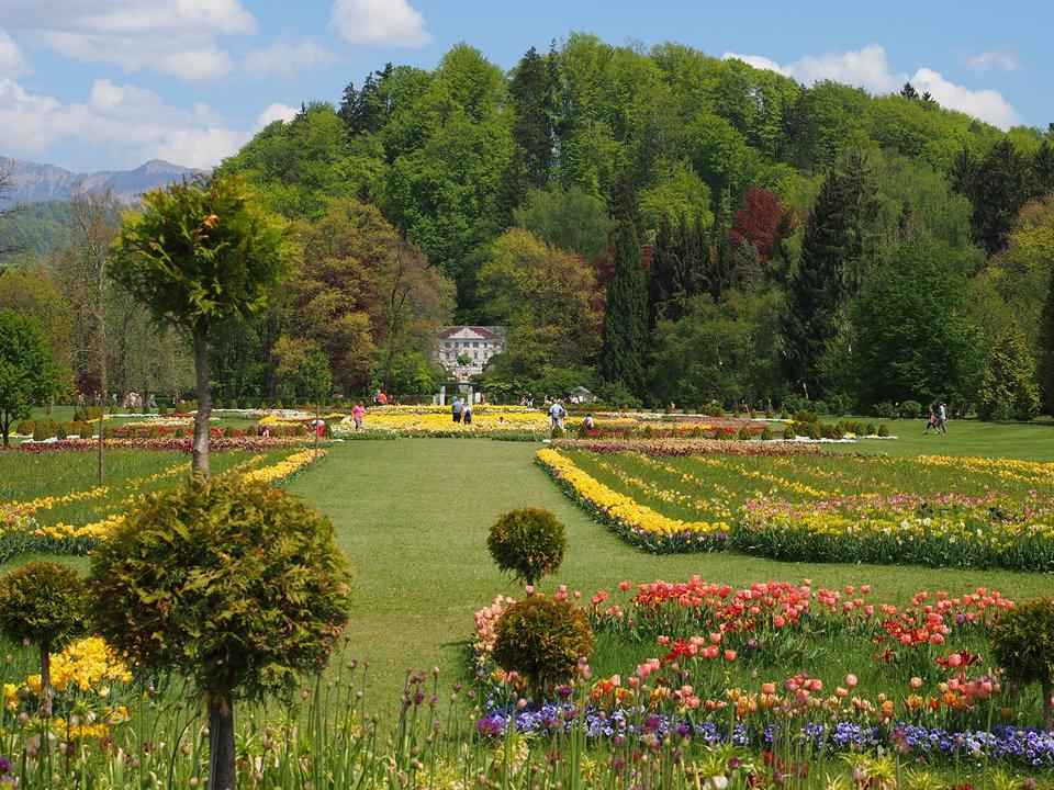 L'Arboretum in primavera