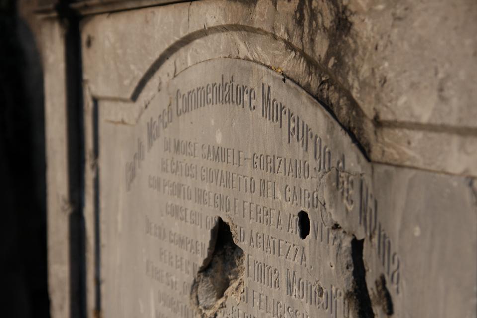 Una del cimitero ebraico di Valdirose