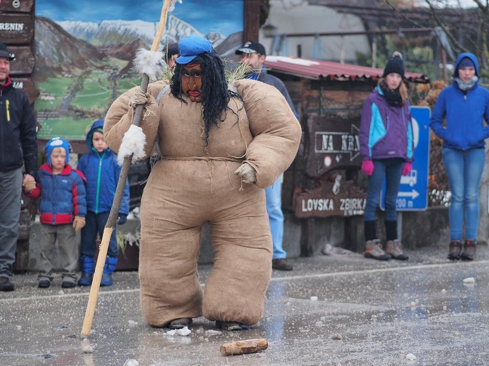 """Il grasso, """"ta debel"""" - Carnevale di Drežnica"""