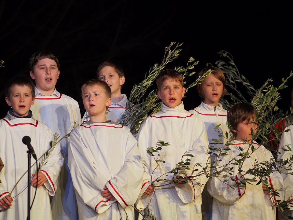 coro di bambini - Škofjeloški pasijon