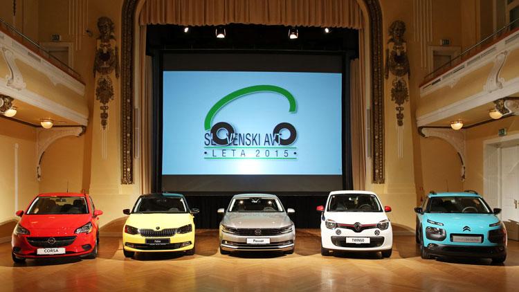 Slovenski avto leta 2015