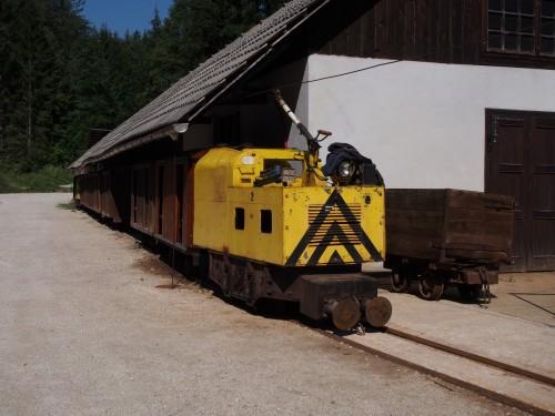 il trenino della miniera