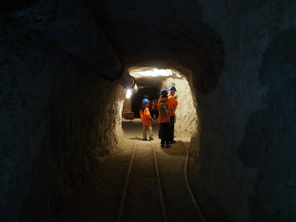 Le gallerie della miniera