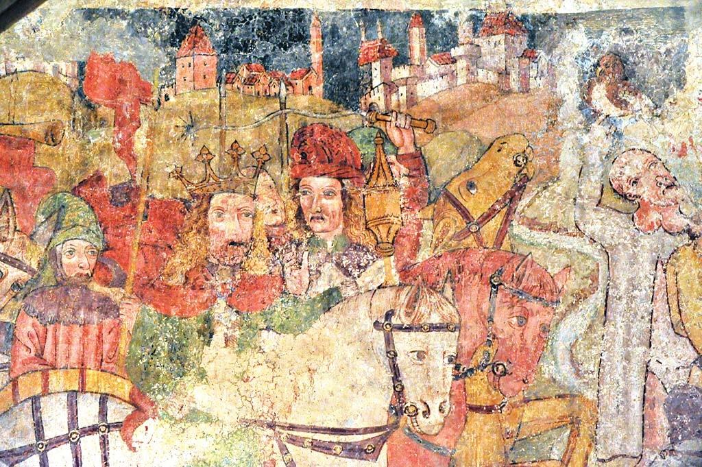 Affresco dei Re Magi a Hrastovlje - Koledniki