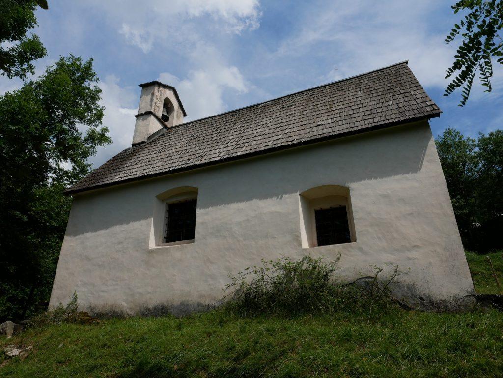 L'esterno della cerkev Sv. Justa
