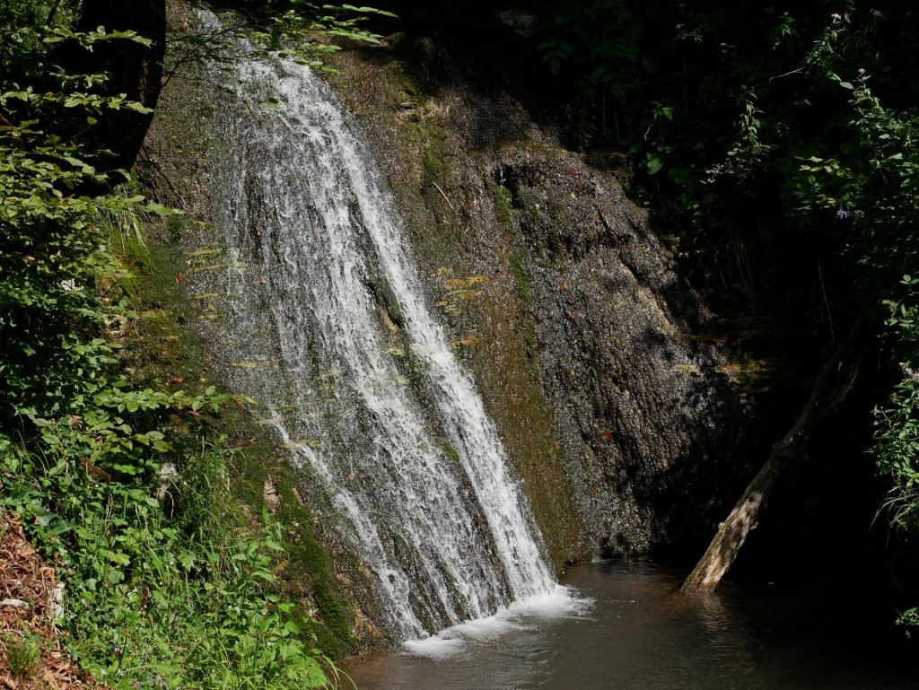 La prima cascata dello Stopnik - Cascate della Koseška korita