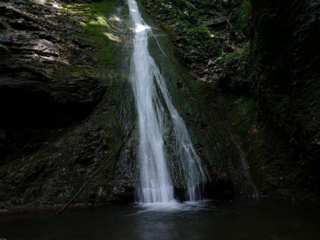 La terza cascata dello Stopnik