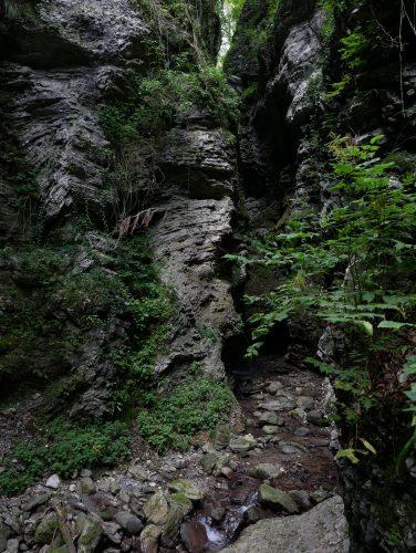 uscendo dalla Koseška korita