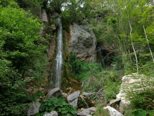 la cascata Sopot