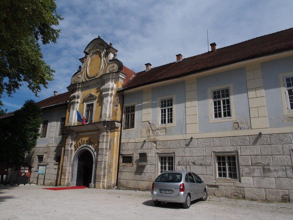 L'ingresso al dvorec Štatenberg