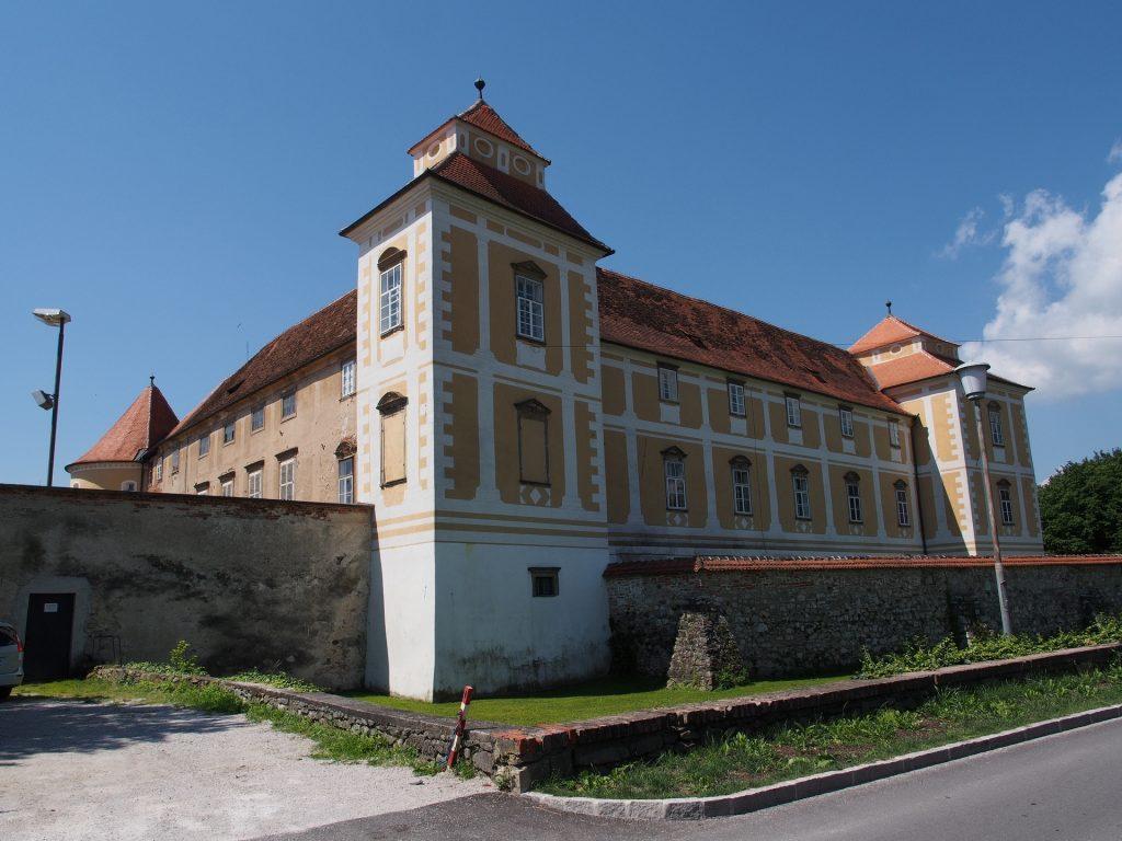 Il castello di Slovenska Bistrica