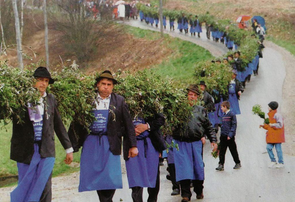 butara record - Domenica delle Palme in Slovenia