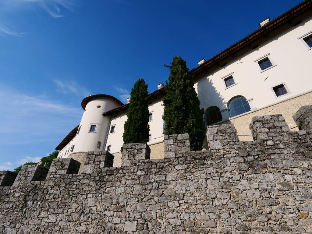 Štanjel - il castello dietro le mura