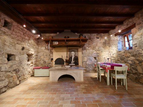 Štanjel - L'interno di una casa tipica