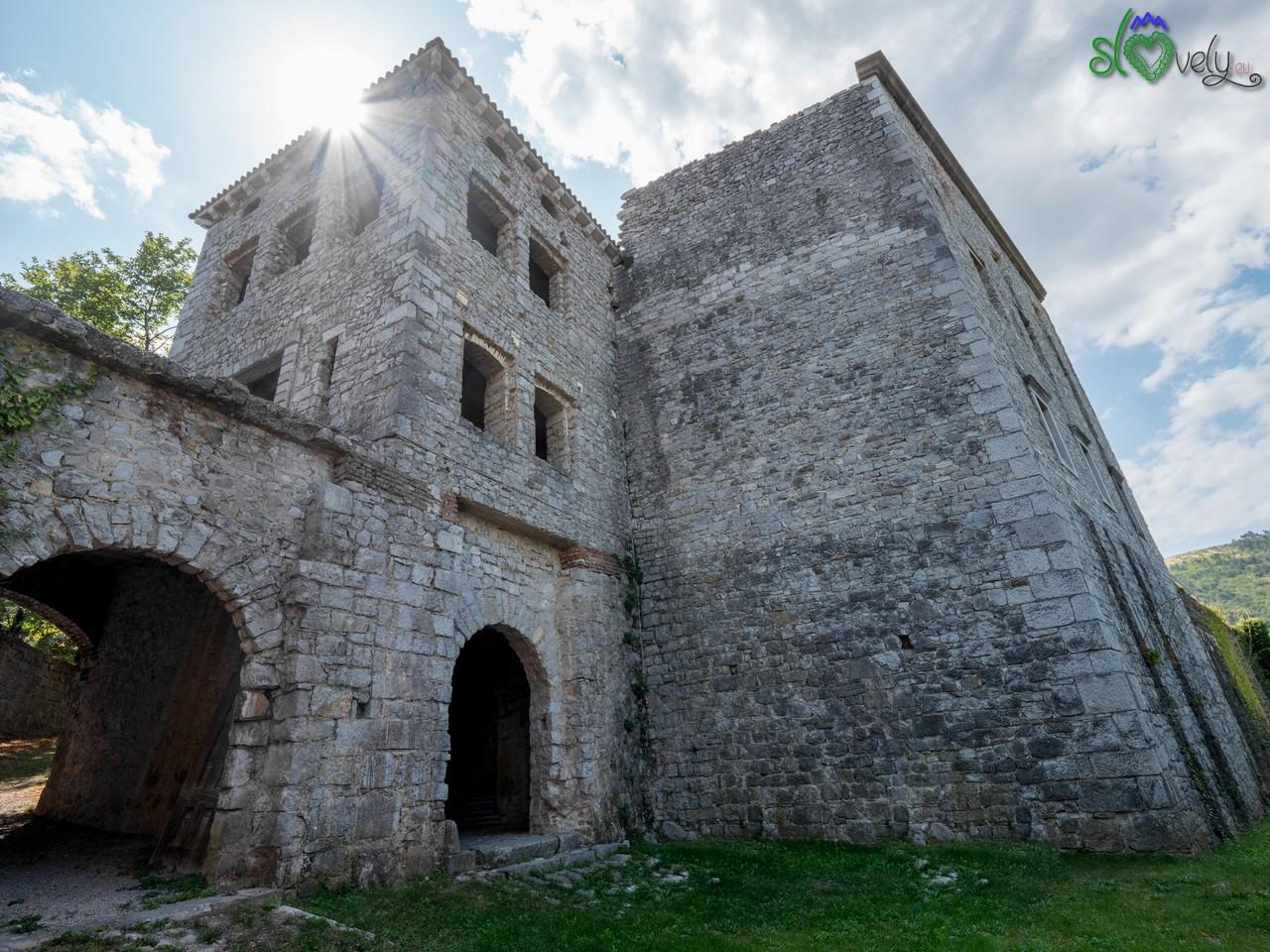 Il possente castello di Rihemberk