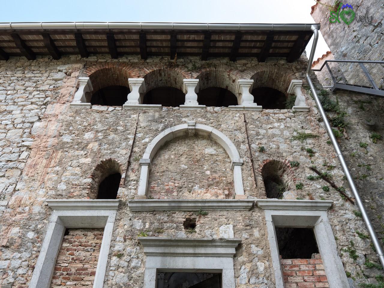L'esterno della cappella