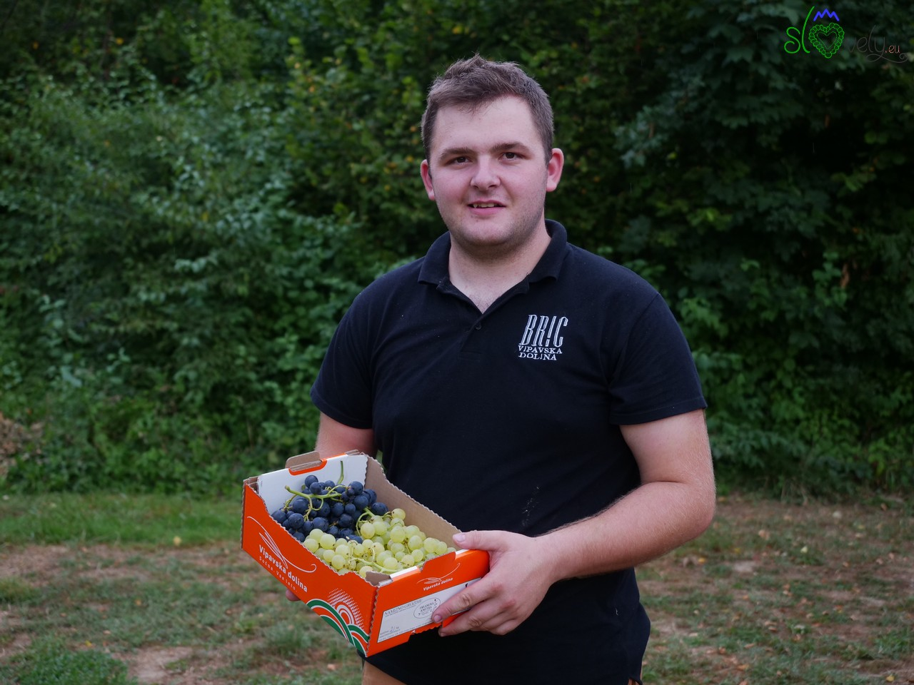 Žan Bric dell'agriturismo Frlanova kmetija di Vogrsko