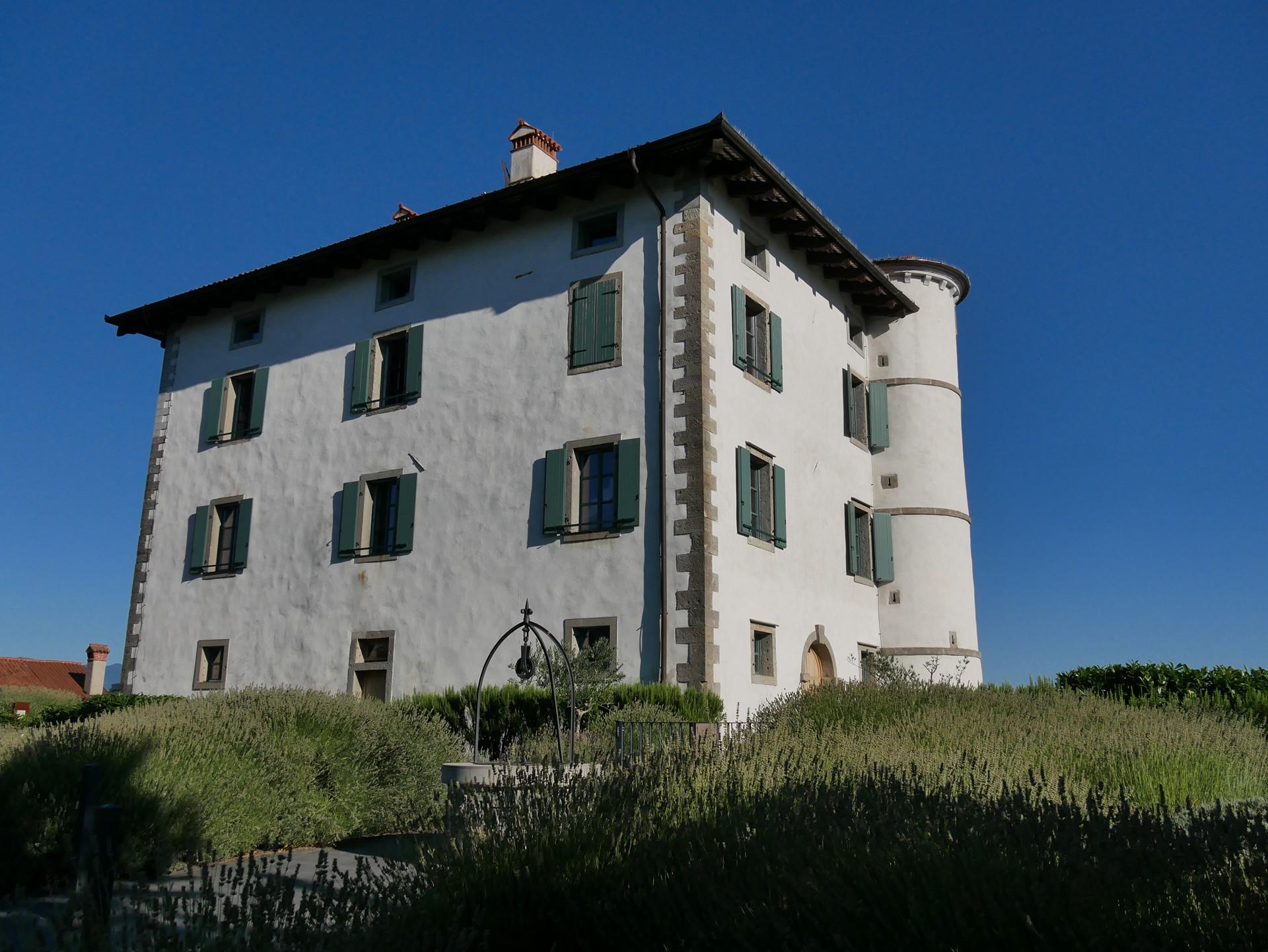 Il castelletto di Gredič a Ceglo