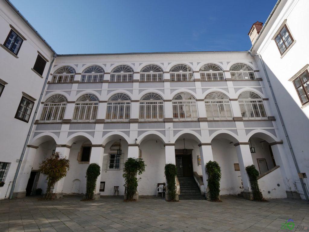L'atri del castello di Ormož