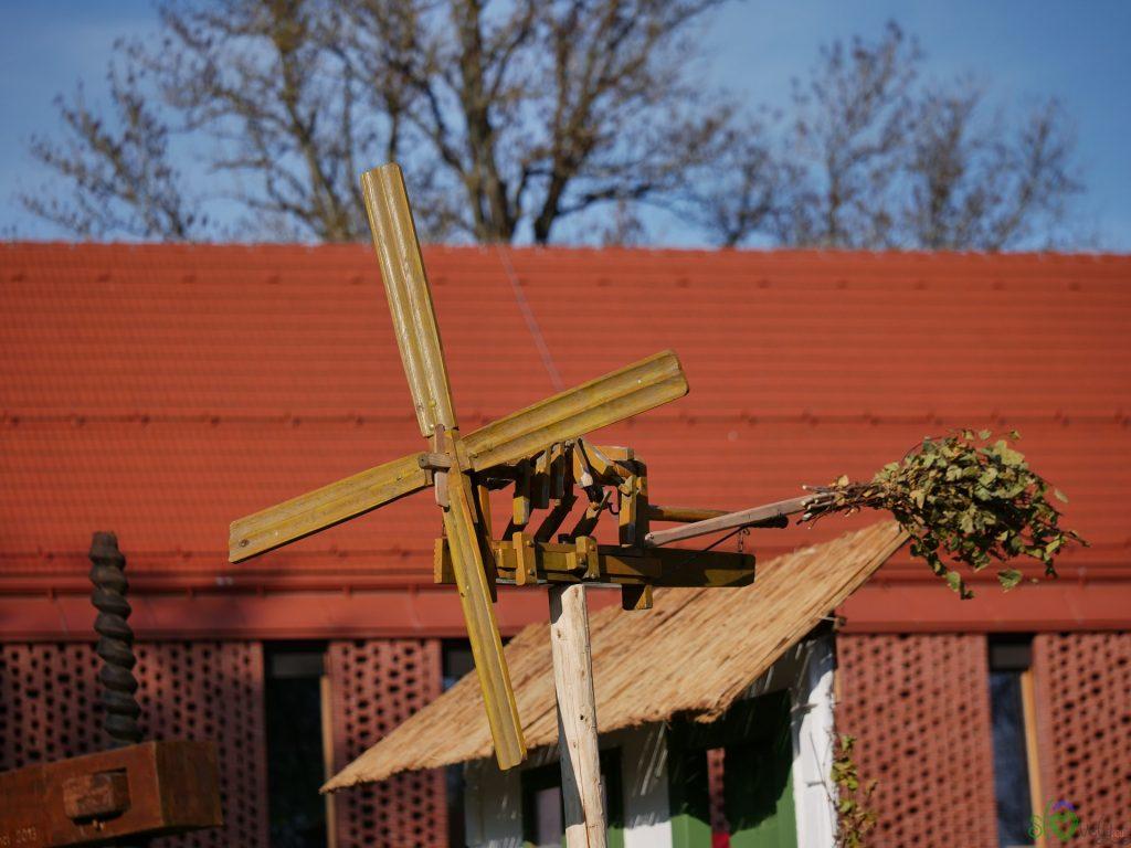 Il klopotec, simbolo della Prlekija