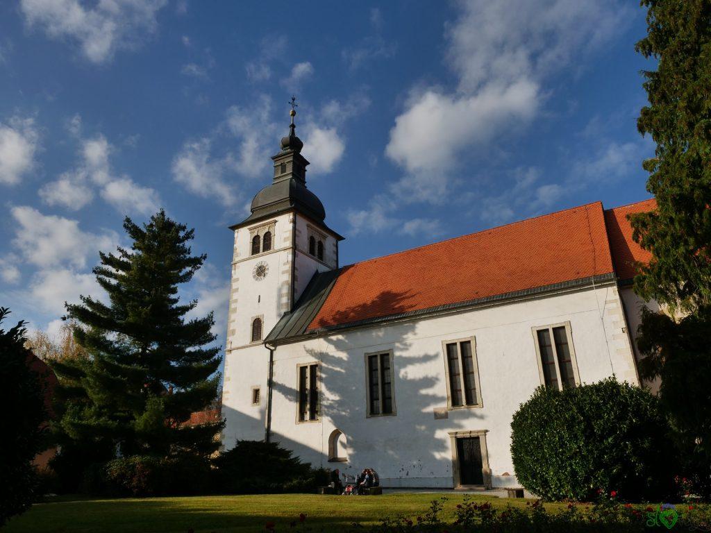 La chiesa di San Giacomo a Ormož