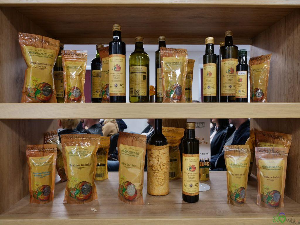 I prodotti a base di zucca di Jeruzalem Sat