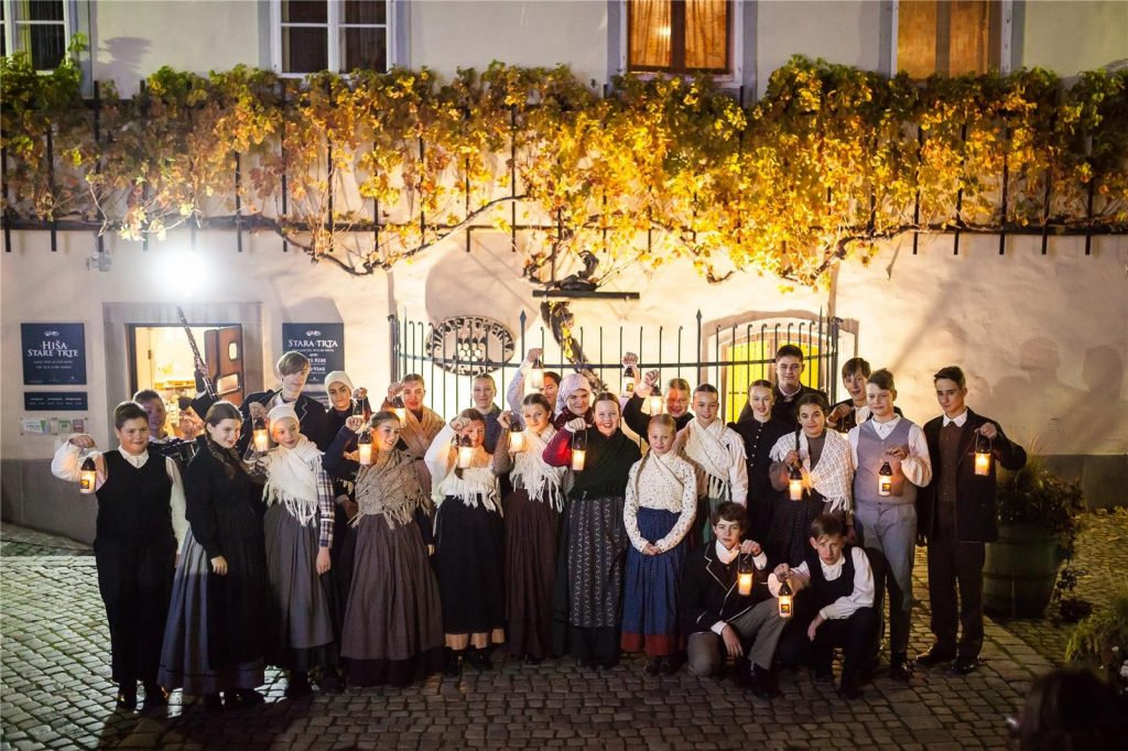 Natale sotto la Stara Trta, la vigna più antica del mondo