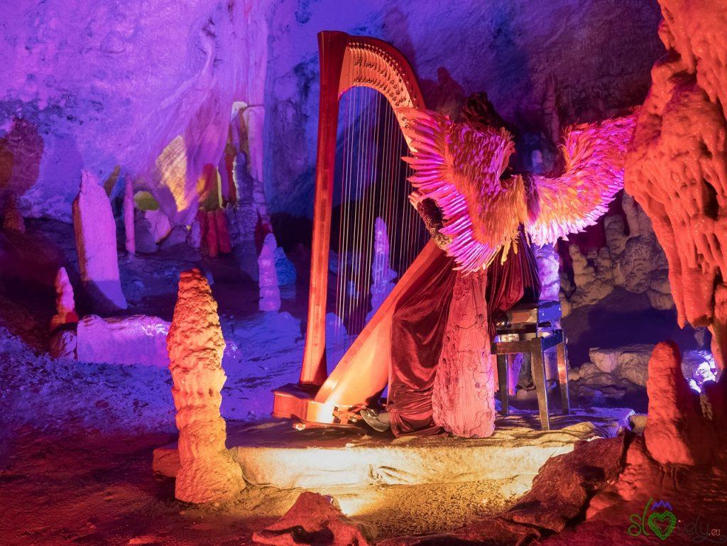 Il presepe vivente nelle grotte di Postumia