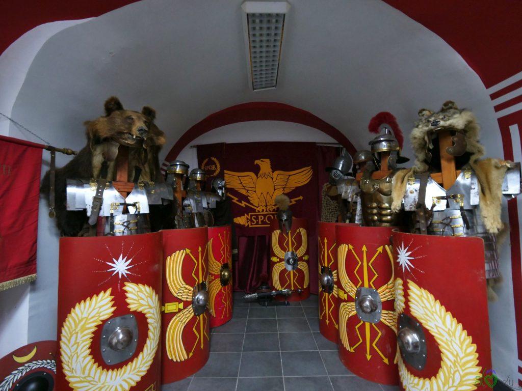Armature romane dell'associazione POETOVIO LXIX