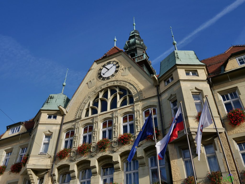 Lo splendido municipio di Ptuj