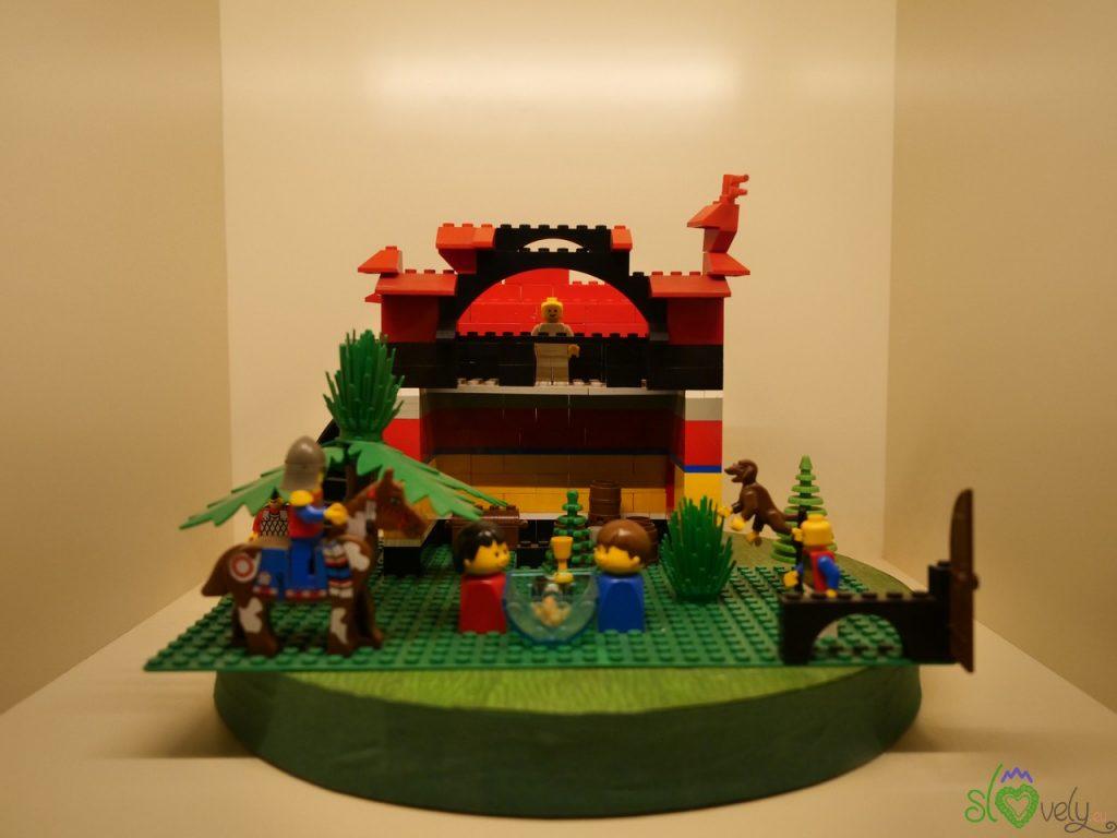 Un presepe fatto col Lego®