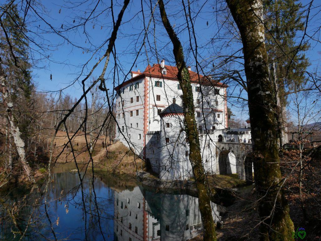 Il castello col suo stagno