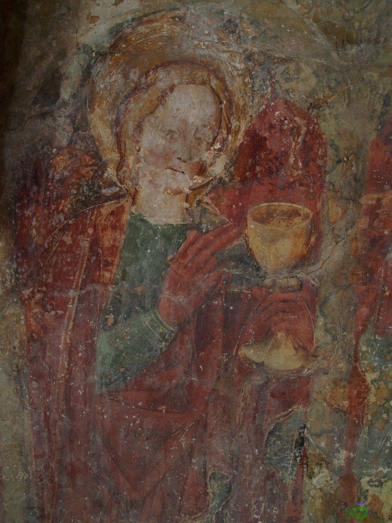 Particolari degli affreschi