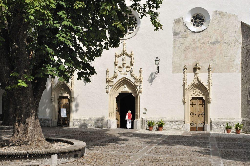La bella chiesa di San Pietro - (c) Slovenia.info