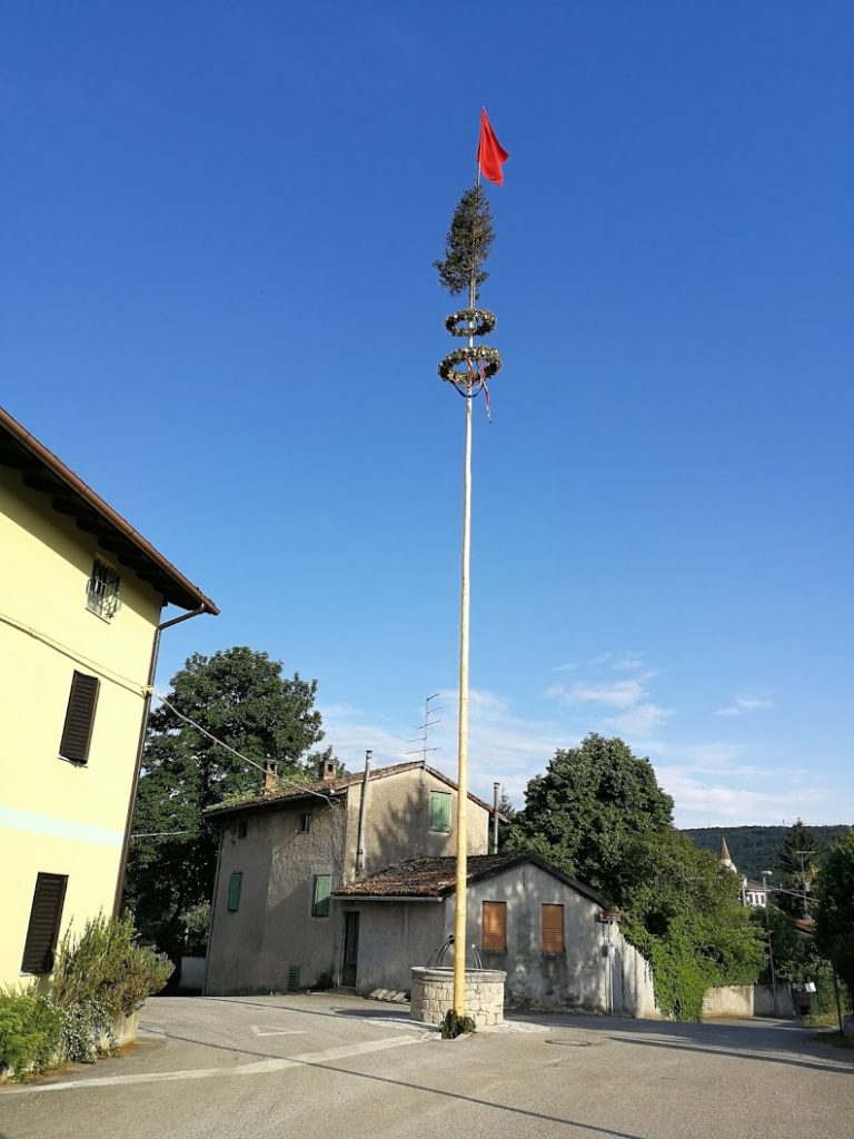 Il Mlaj nel paese di Rupa, vicino a Gorizia