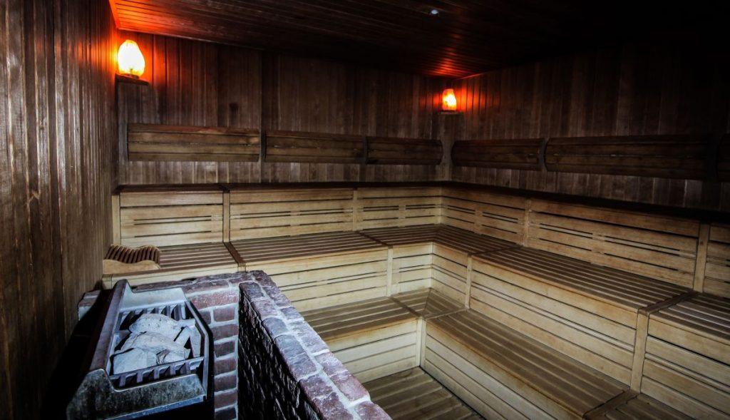 Sauna finlandese estrema