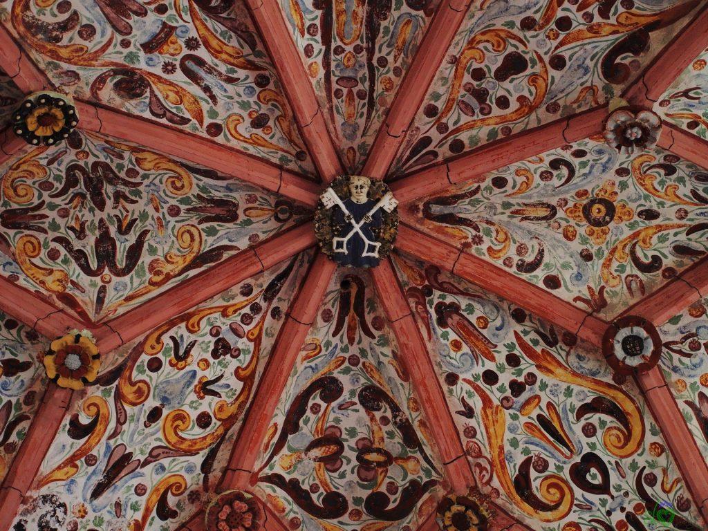 Il soffitto affrescato