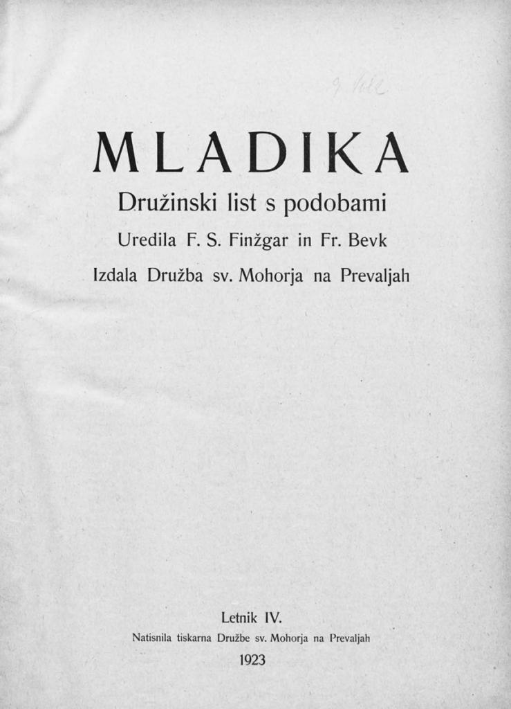 La rivista Mladika