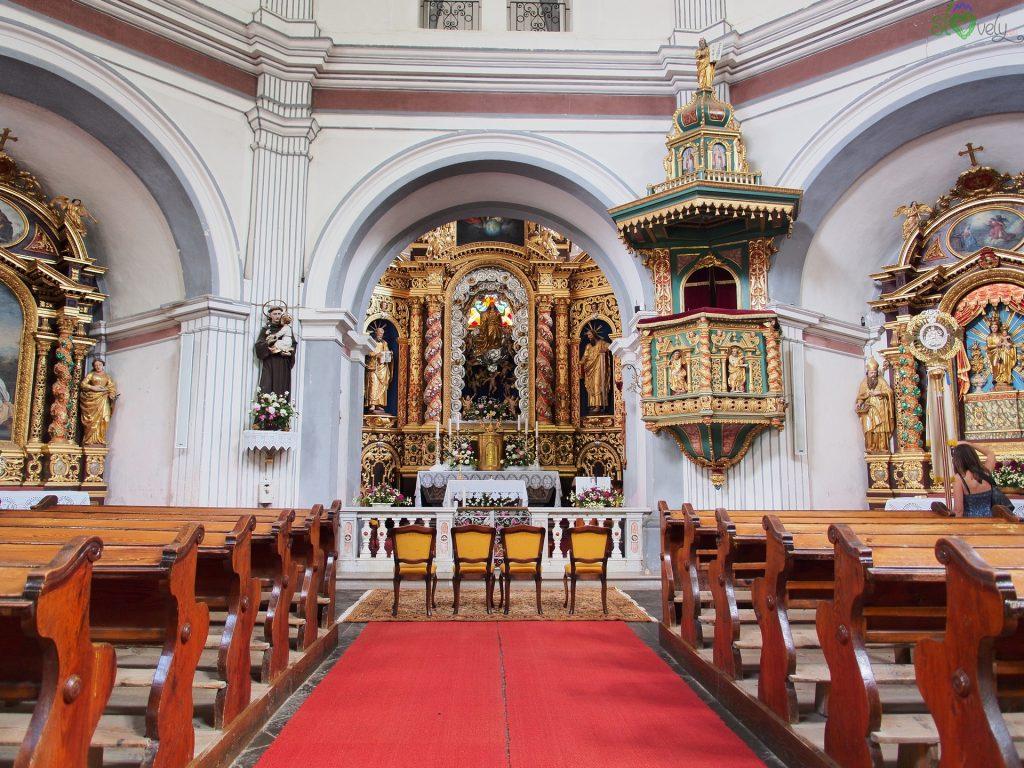 L'interno della chiesa di Nova Štifta