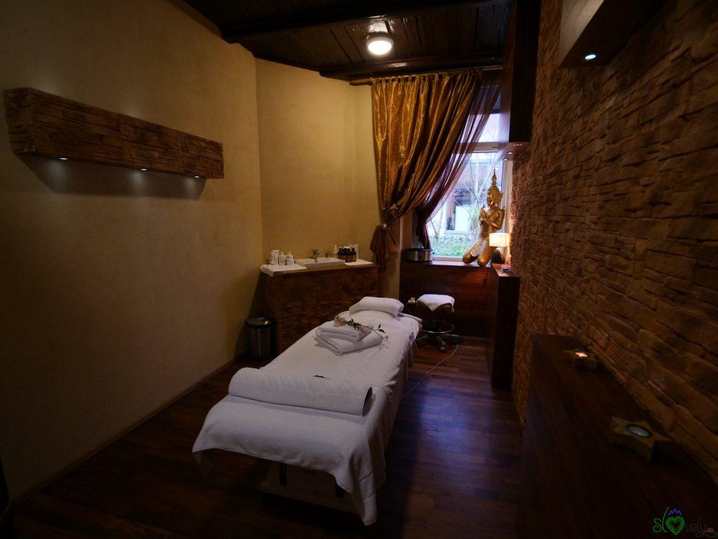 Una saletta per i massaggi
