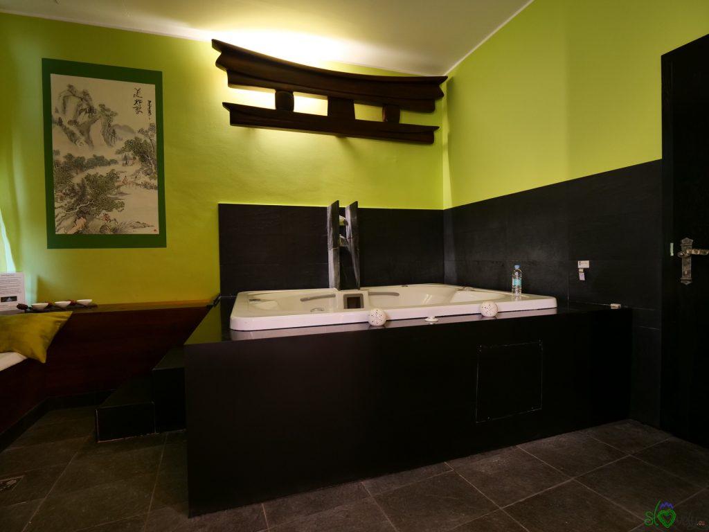 La sala in stile giapponese