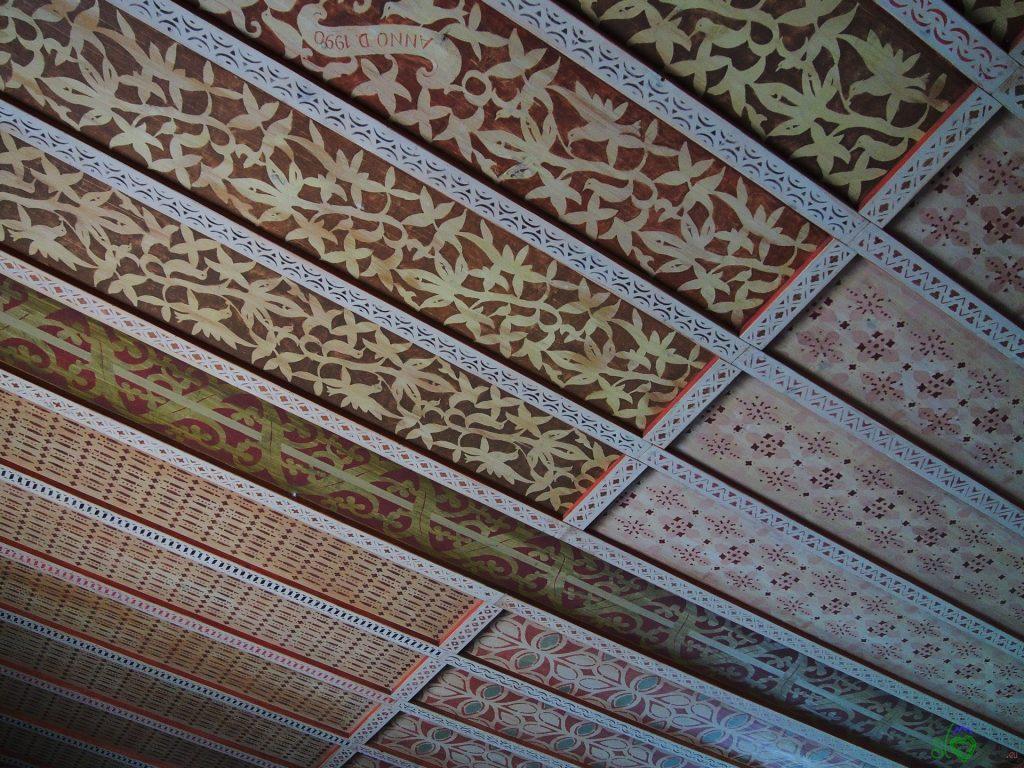 Il soffitto ligneo
