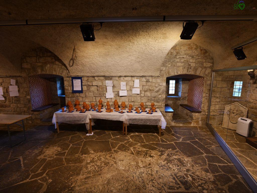 L'interno del castello di Prem