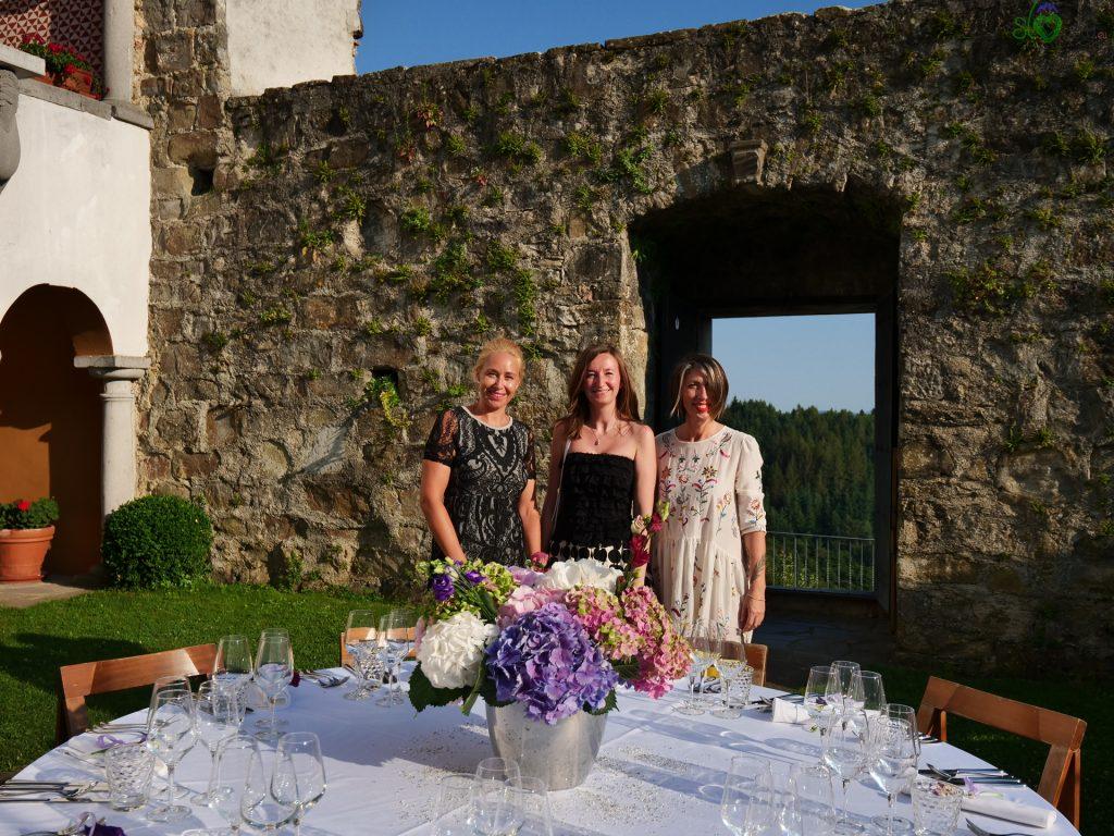 Sara tra Andreja e Melinda, ideatrici di Skrivna Večerja